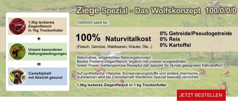 Premium Hundefutter Rind Spezial